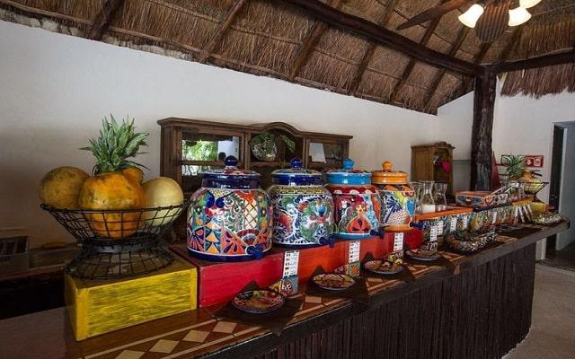 Hacienda Paradise Boutique Hotel, variados menús para tus alimentos