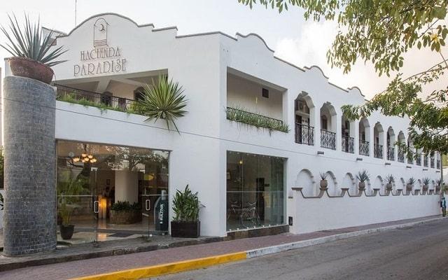 Hacienda Paradise Boutique Hotel, buena ubicación