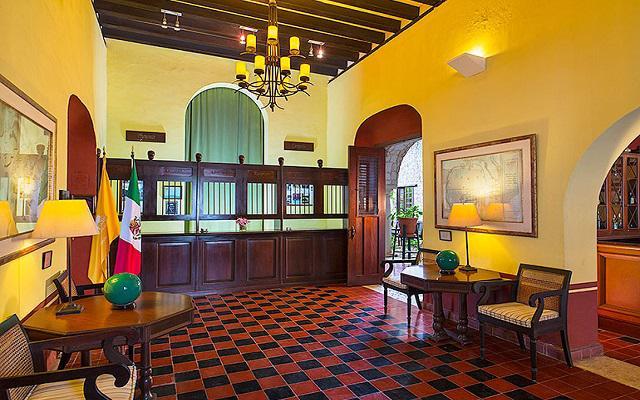 Recepción de Hacienda Puerta Campeche