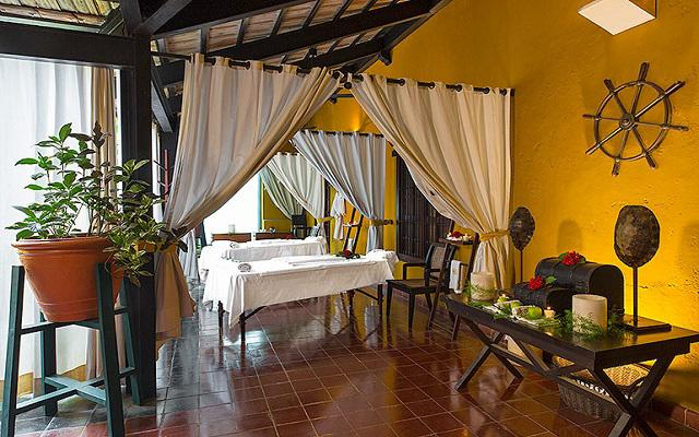 El hotel ofrece servicios de spa