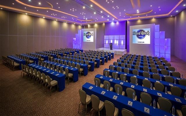 Hard Rock Hotel Cancún, salón de eventos