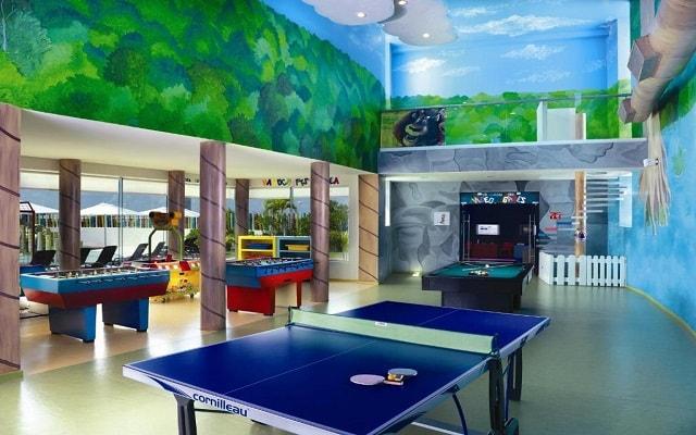 Hard Rock Hotel Cancún, salón de juegos