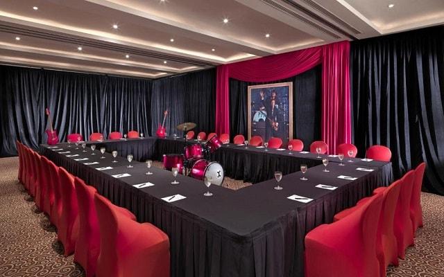 Hard Rock Hotel Cancún, espacios agradables
