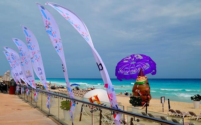 Hard Rock Hotel Cancún, buena ubicación a pie de playa