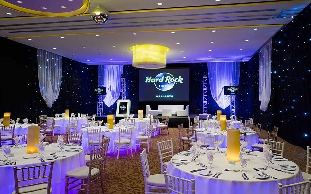 Hard Rock Hotel Vallarta, facilidades nupciales