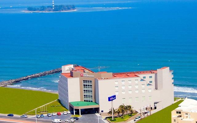 Hilton Garden Inn Veracruz Boca del Río, buena ubicación a pie de playa