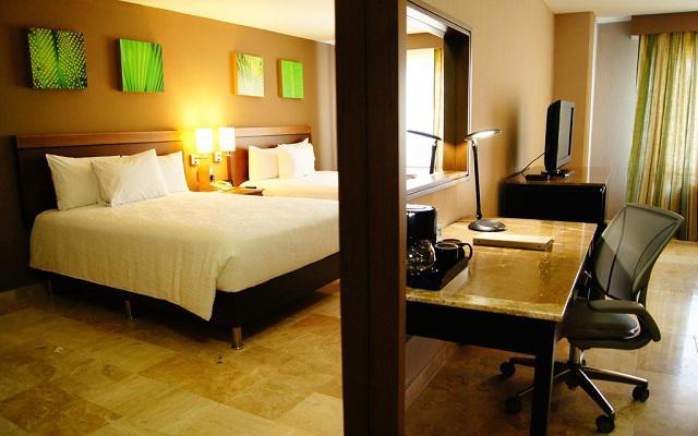 Hilton Garden Inn Veracruz Boca del Río, habitaciones con todas las amenidades