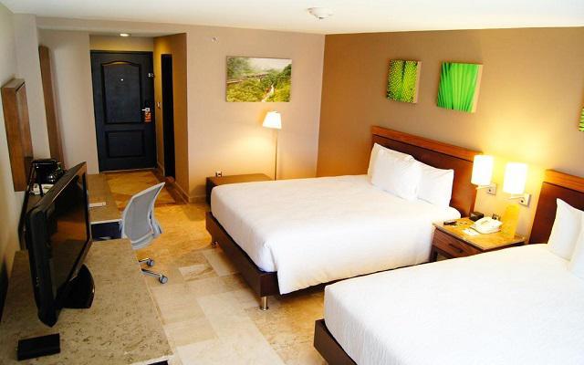 Hilton Garden Inn Veracruz Boca del Río, habitaciones bien equipadas