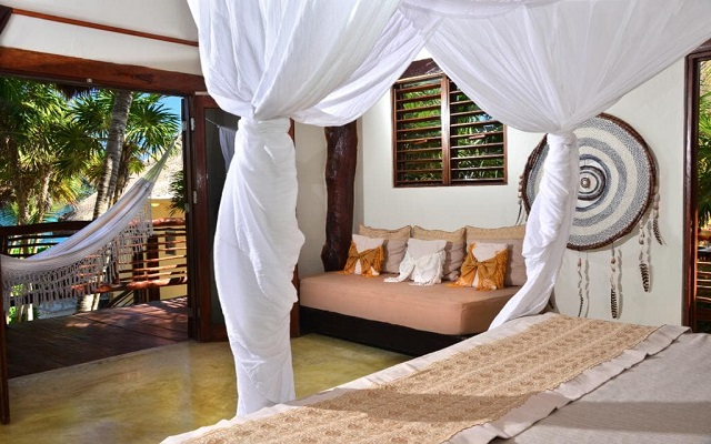 Hip Hotel Tulúm, habitaciones bien equipadas