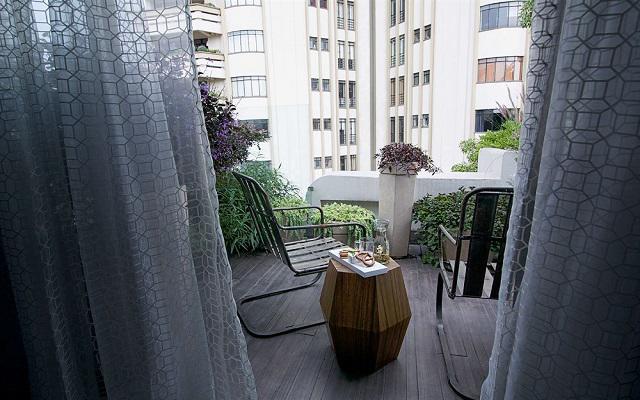 Algunas habitaciones cuentan con balcón