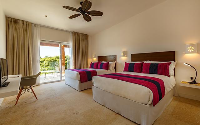 Hotel HM Playa del Carmen habitación con dos camas Queens
