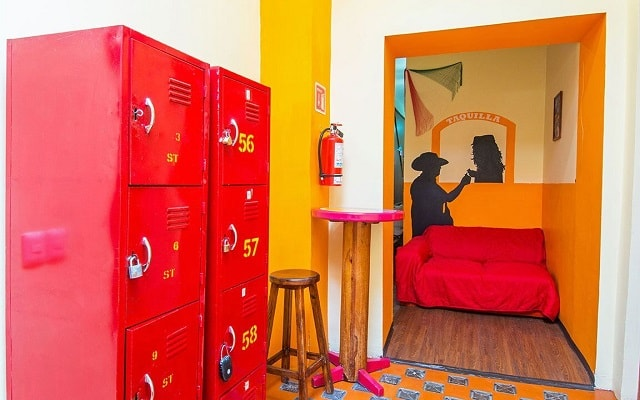 Hostal Amigo, los dormitorios tienen lockers privados para tu seguridad