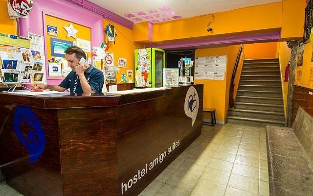Hostel Amigo Suites, atención personalizada desde el inicio de tu estancia