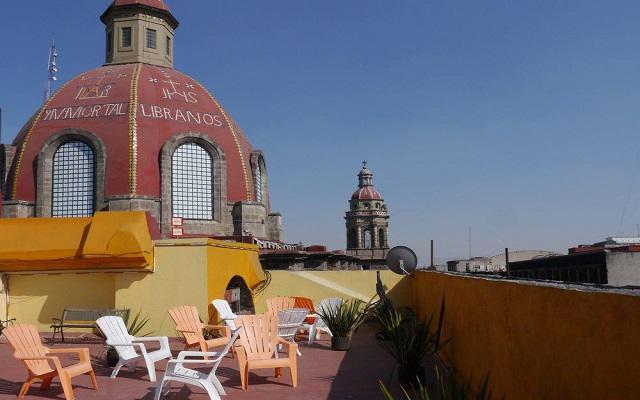 Hostel Amigo Suites, relájate y disfruta de una bebida en su terraza