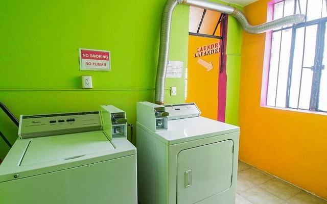 Hostel Amigo Suites, ofrece servicio de lavandería