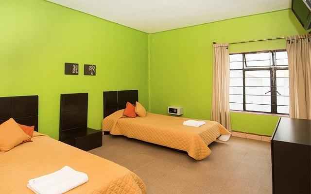 Hostel Amigo Suites, amplias y luminosas habitaciones