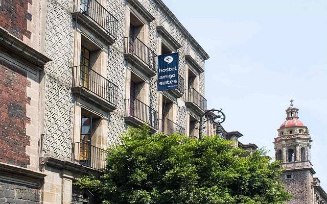 Hostel Amigo Suites, buena ubicación a metros del Centro Histórico