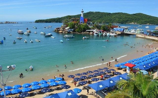 Hotel Acamar Beach, amenidades en la playa
