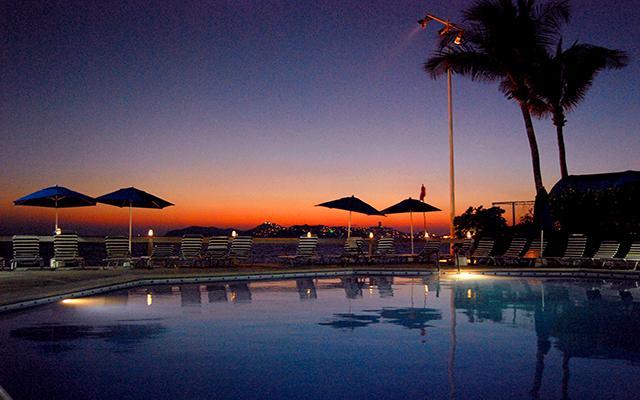 Hotel Acapulco Malibú, atardeceres inolvidables