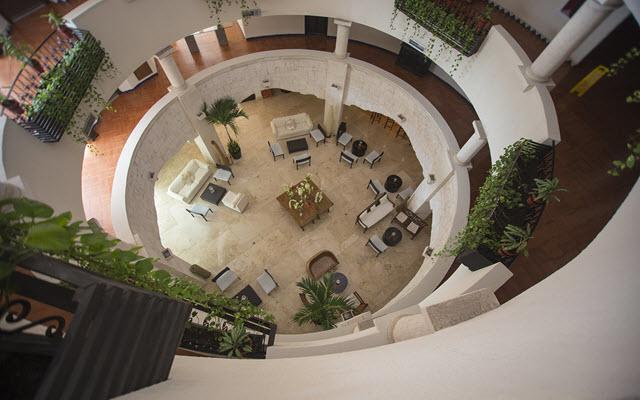 Lobby Adhara Hacienda Cancun