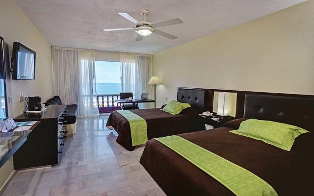 Hotel Aguamarina, habitaciones bien equipadas