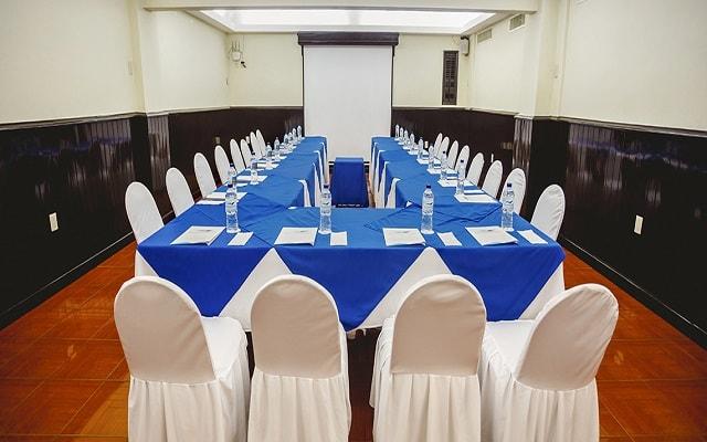 Hotel Aguamarina, sala de juntas