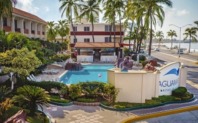 Hotel Aguamarina, escenarios fascinantes