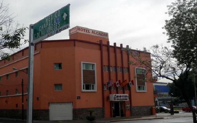 Hotel Alcazar en Guadalajara Ciudad