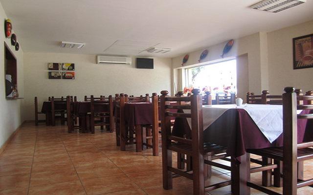 Restaurante con servicio para desayunos y comidas