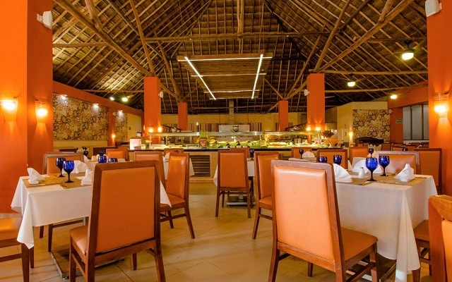 Hotel Allegro Cozumel, ricos menús para tus alimentos