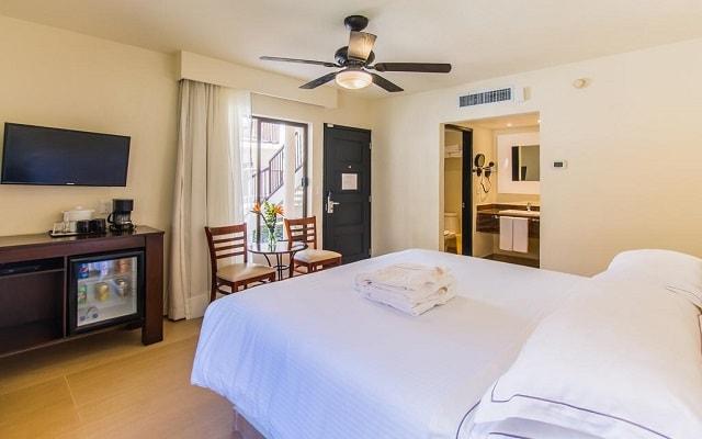 Hotel Allegro Cozumel, habitaciones bien equipadas