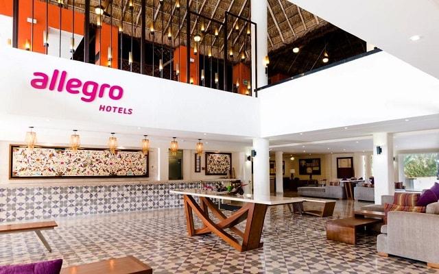 Hotel Allegro Cozumel, atención personalizada desde el inicio de tu estancia