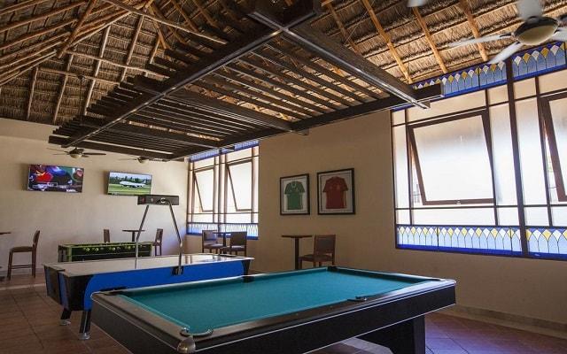 Hotel Allegro Playacar, salón de juegos