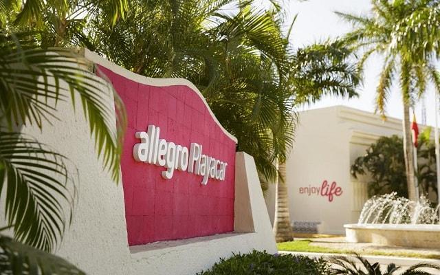 Hotel Allegro Playacar, buena ubicación en zona residencial