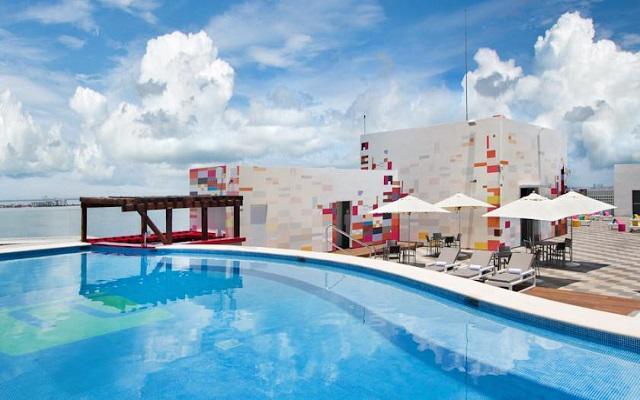 Hotel Aloft Cancún, encantadores espacios para relajarte