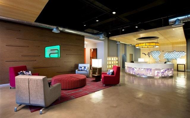 Hotel Aloft Cancún, atención personalizada desde el inicio de tu estancia