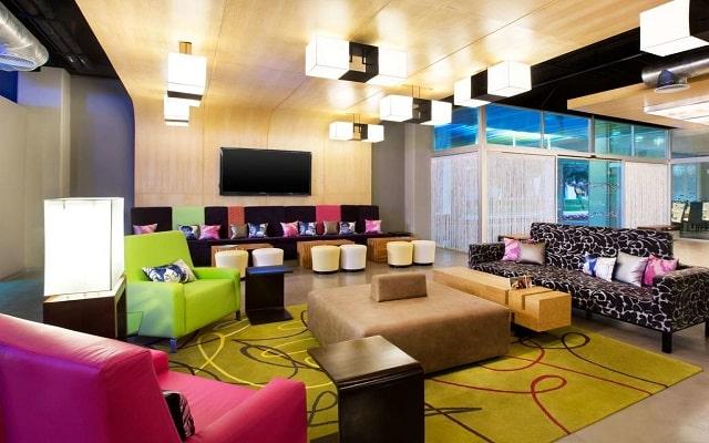 Hotel Aloft Cancún, confort en cada sitio