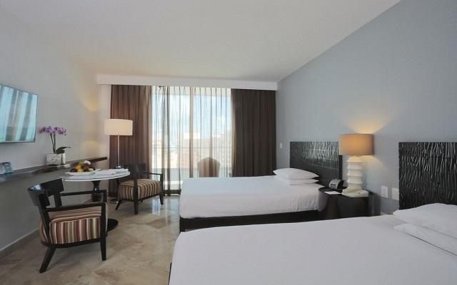 Hotel Altitude by Krystal Grand Punta Cancun-All Inclusive, cómodas y acogedoras habitaciones