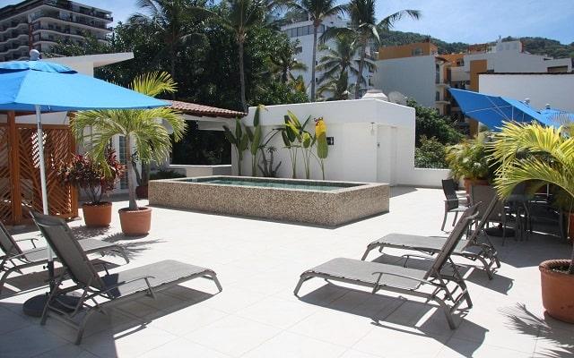 Hotel Amapas Apartments, relájate en la terraza
