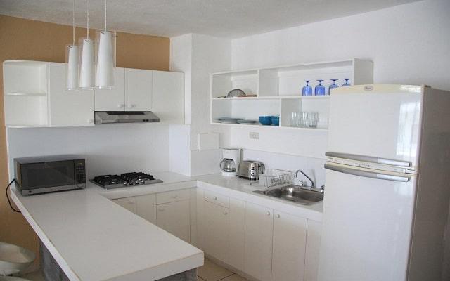 Hotel Amapas Apartments, cocina equipada