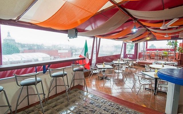 Hotel Amigo Zócalo, disfruta una copa en el bar