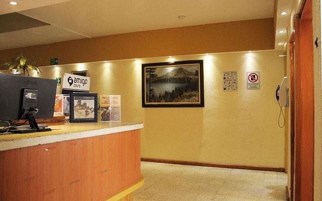 Hotel Amigo Zócalo, atención personalizada las 24 hs.