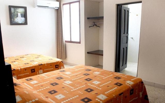 Hotel Amparo, amplias y luminosas habitaciones