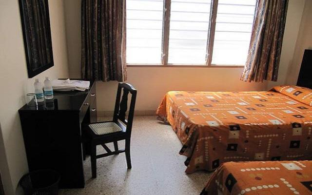 Hotel Amparo, habitaciones bien equipadas
