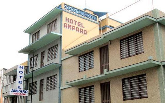 Hotel Amparo en Veracruz Puerto