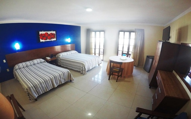 Hotel & Suites Oriente, habitaciones bien equipadas