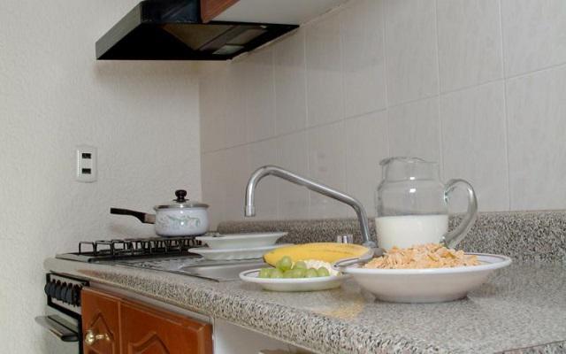 Las suites del hotel incluyen cocina y utensilios