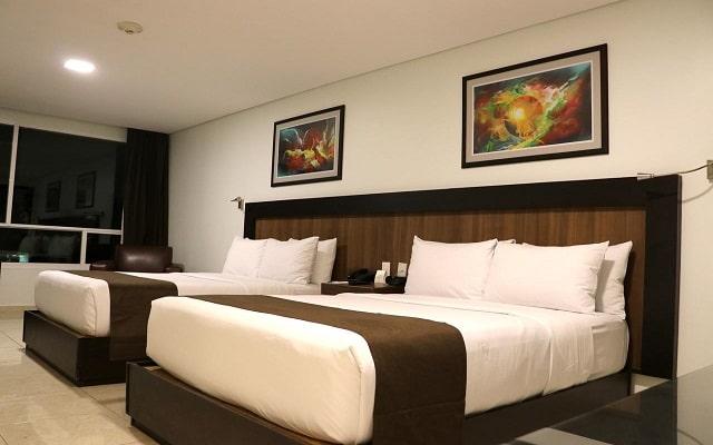 Hotel & Suites PF, espacios acondicionados para tu descanso