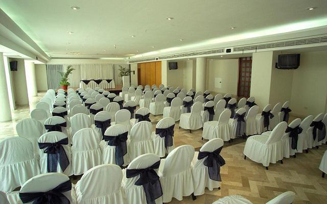 Hotel Aquamarina Beach Cancún, salón de eventos