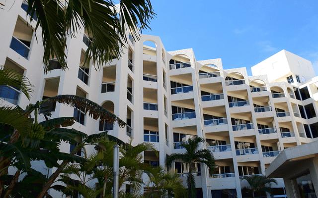 Hotel Aquamarina Beach Cancún, vistas increíbles desde sus instalaciones